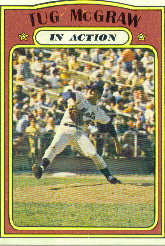 1972 Topps Baseball Cards      164     Tug McGraw IA